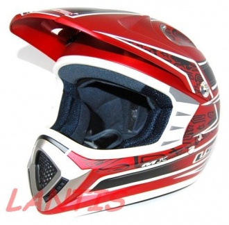 KASK LS2 MX426 AIRFORCE II JUNIOR MAT RED