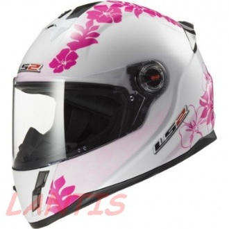 KASK LS2 FF392.1 INTEGRALNY JUNIOR WHITE PINK